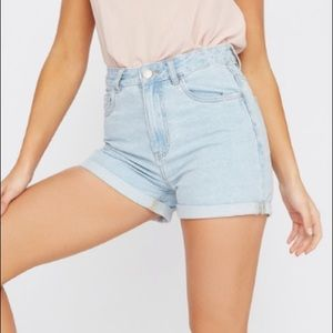 denim shorts new with tags